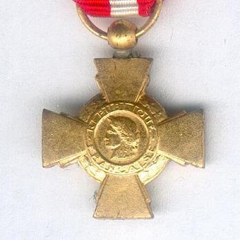 Miniature Bronze Cross (Bronze gilt) Obverse