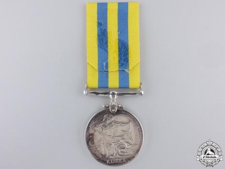 Korea Medal Reverse