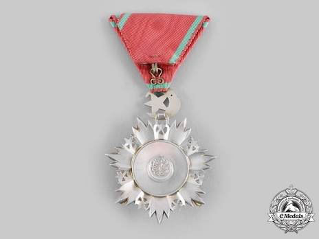 Order of Medjidjie, Military Division, V Class Reverse