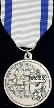 Civil Defence Medal for International Service Obverse