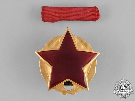 Order of the Partisan Star, I Class