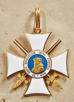 Order of Philip the Magnanimous, Type II, Grand Cross with Swords (in gold)