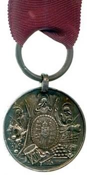 Silver Medal (1830-1837) Obverse