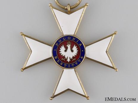 Order of Polonia Restituta, Commander (1921-1939) Obverse