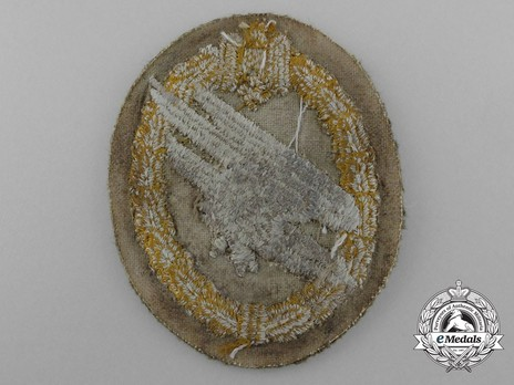 Army Paratrooper Badge, in Cloth Reverse