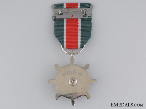 Naval Medal for Loyal and Meritorious Service Reverse