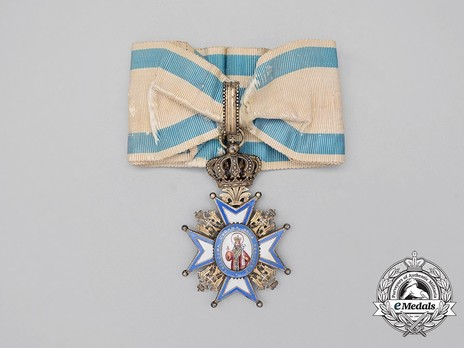 Order of Saint Sava, Type I, II Class