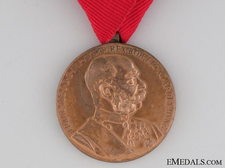 Military Division, Bronze Medal Obverse