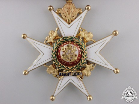 Grand Cross (with Gold) Reverse