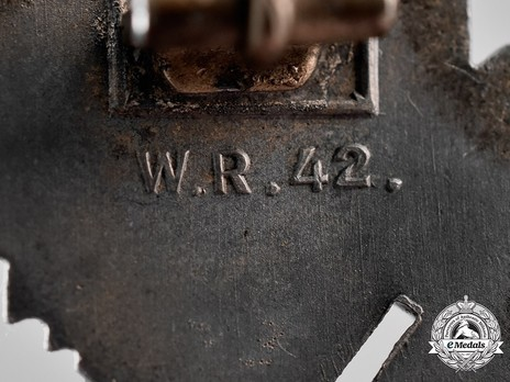 Infantry Assault Badge, by W. Redo Detail