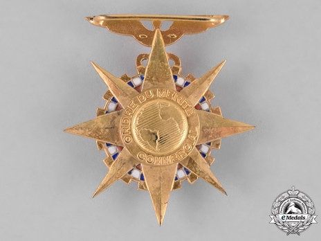 Order of Commercial and Industrial Merit, Officer Reverse