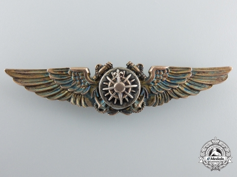 Wings (with silver and gold gilt)Obverse