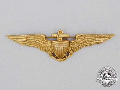 Pilot Wings (with sterling silver and gilt) Obverse