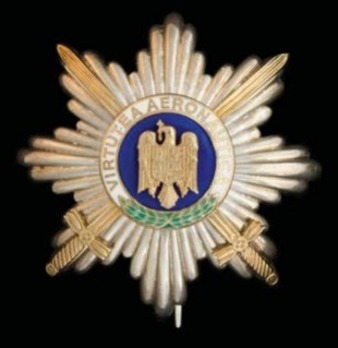 Grand Officer Breast Star (peacetime) Obverse