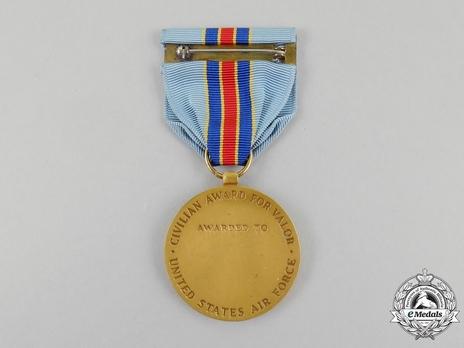 Air Force Valor Award Reverse