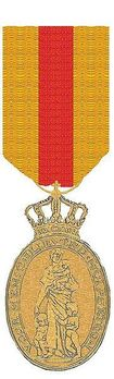 Medal for Charitable Assistance, Type III, (in Gold, 1912-2013)