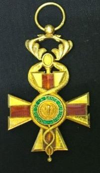 Order of Public Health, Officer Obverse