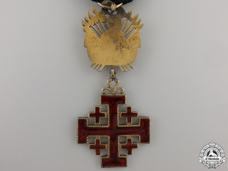 Equestrian Order of Merit of the Holy Sepulcher of Jerusalem (Type II) Knight (for Men, 1907-Present) Reverse