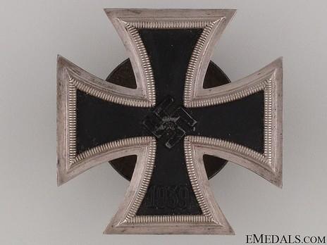 Iron Cross I Class, by Steinhauer & Lück (L/16, screwback) Obverse