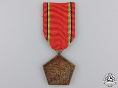 Liberation Medal, in Bronze Obverse