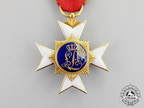 III Class Cross (in gold) Reverse