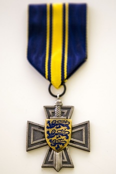 Order of Merit of the Estonian Defence Forces, I Class Cross Obverse