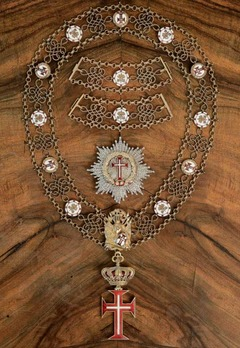 Supreme Order of Christ, Collar