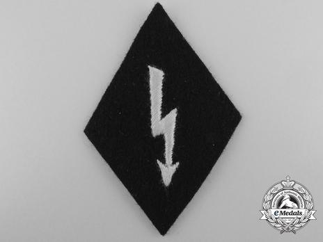 Allgemeine SS Signals Trade Insignia (NCO/EM version) Obverse