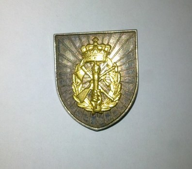 Home Guard Long Service Decorations, Silver Badge (for 20 years) Obverse