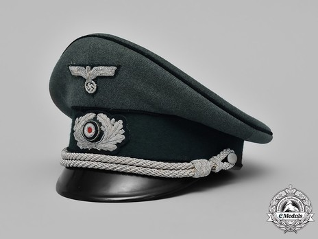 German Army Engineer Officer's Visor Cap Profile