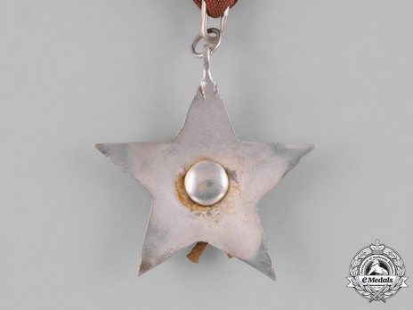 Order of the Gorkha Dakshina Bahu, IV Class Reverse