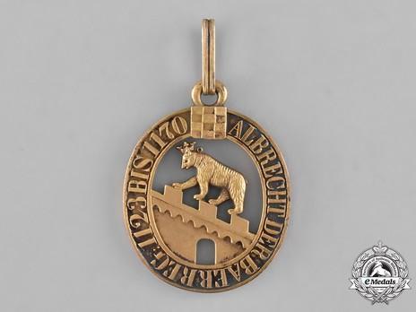 Grand Cross (in bronze gilt) Reverse