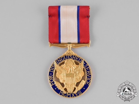 Army Distinguished Service Medal (Privately Engraved and Numbered) Obverse
