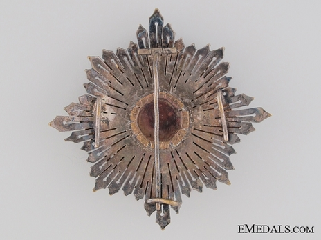 Grand Cross with Palms (Silver gilt) Reverse