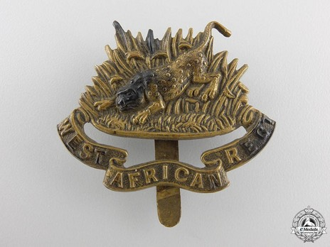 West African Regiment Cap Badge Obverse