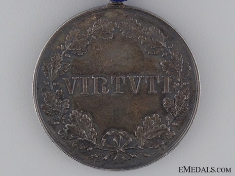 Royal Order of Merit of St. Michael, Silver Medal Reverse