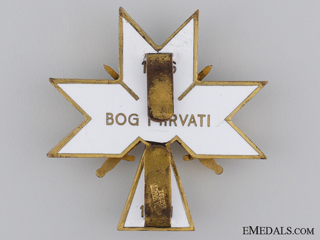 II Class Officer (with swords) Reverse