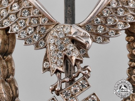 Combined Pilot/Observer Badge (2nd Model), with Diamonds Obverse Detail