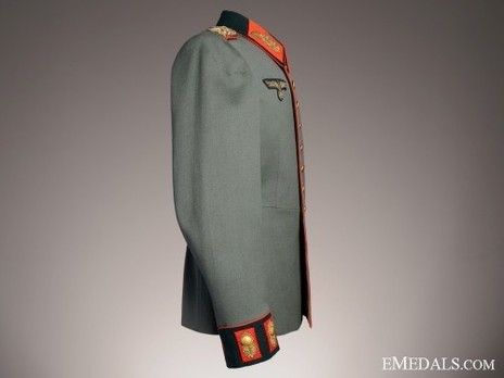 German Army General's Dress Tunic Right Side