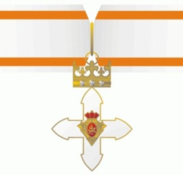 Order of Vytautas the Great, Grand Commander's Cross Obverse