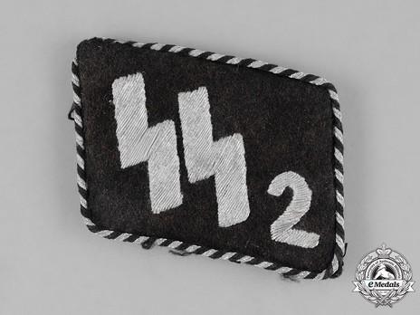 "SS-Standarte 2/VT ""Germania"" NCO/EM Collar Tabs Obverse"