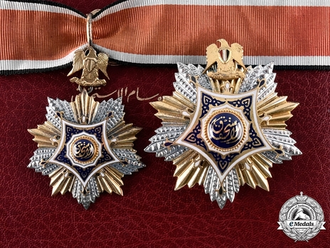 Order of Merit, Type I, Grand Officer  Set