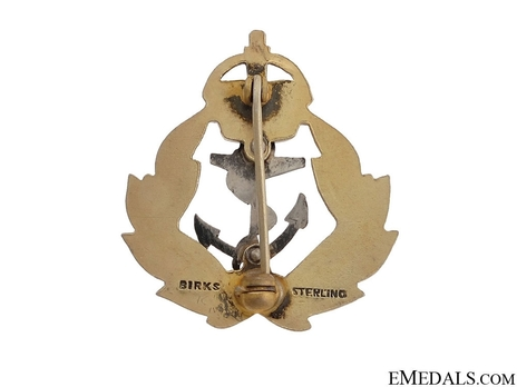 Birks, Canada, WWII Royal Canadian Navy Pin