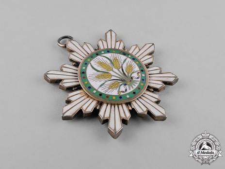 Order of Illustrious Brilliant Golden Grain, V Class Knight Obverse