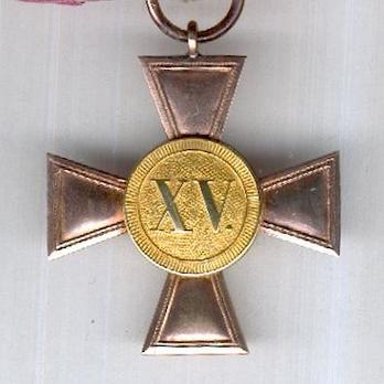 I Class Cross for 15 Years Reverse