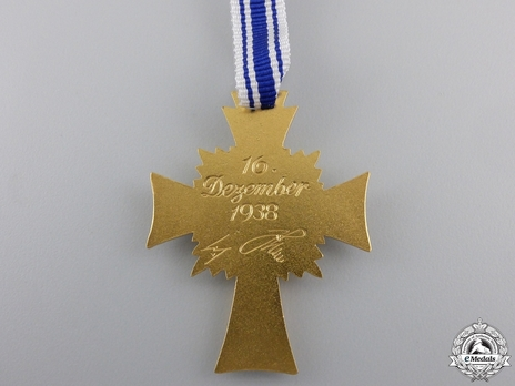 Cross of Honour of the German Mother, in Gold Obverse