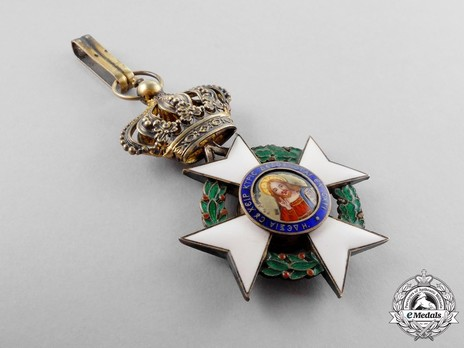 Order of the Redeemer, Type II, Grand Officer's Cross Obverse