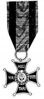 Order of Virtuti Militari, Type II, Knight Obverse