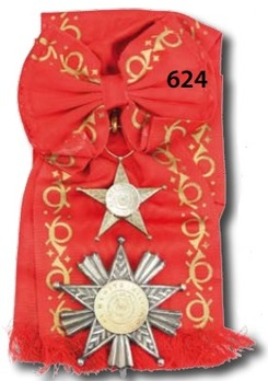 Order of Military Merit, Grand Cross Breast Star