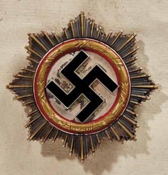 German Cross, in Gold, by Deschler (10 rivets) Obverse